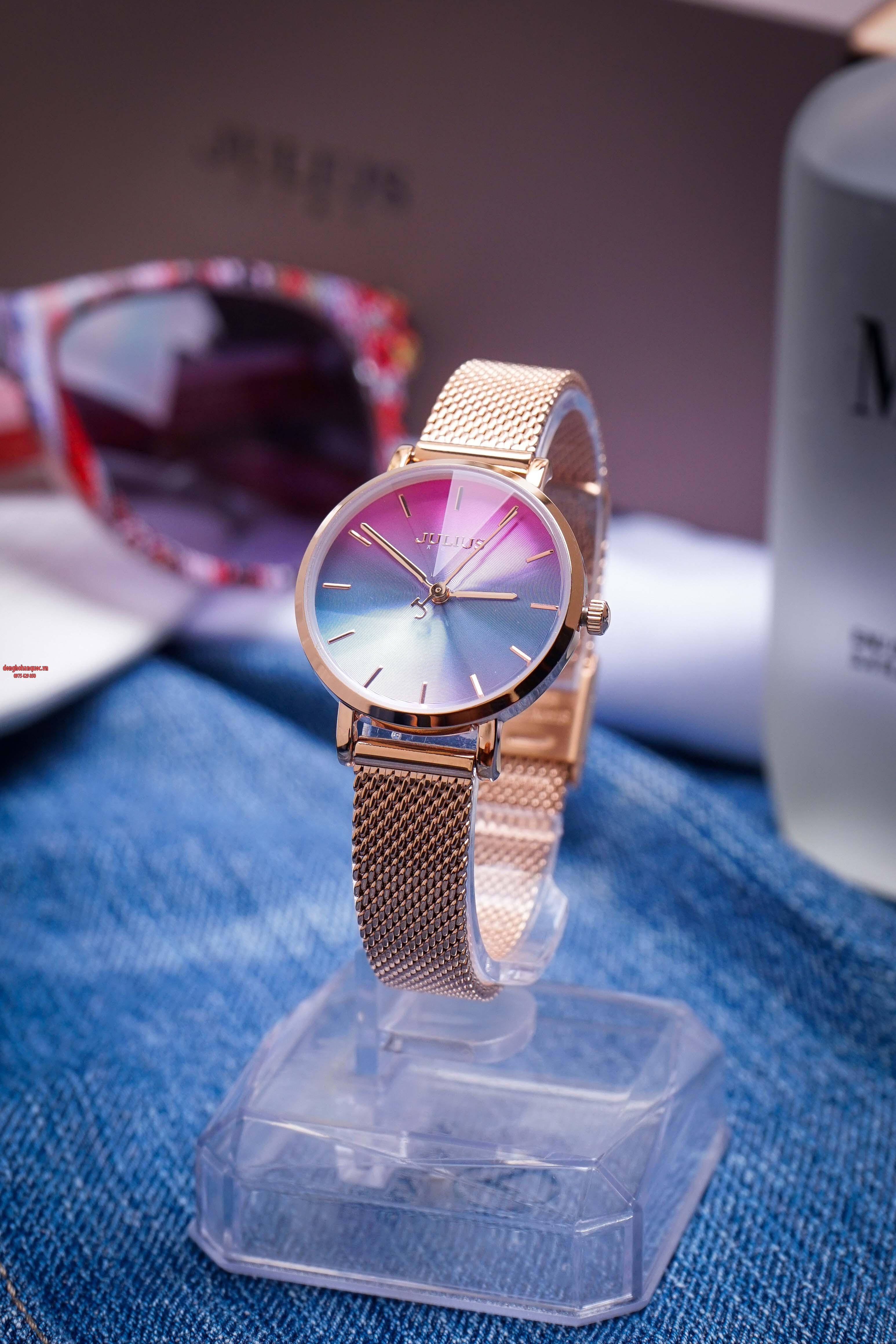 Những mẫu đồng hồ Julius Hàn Quốc mới nhất khiến bạn yêu mê mẩn