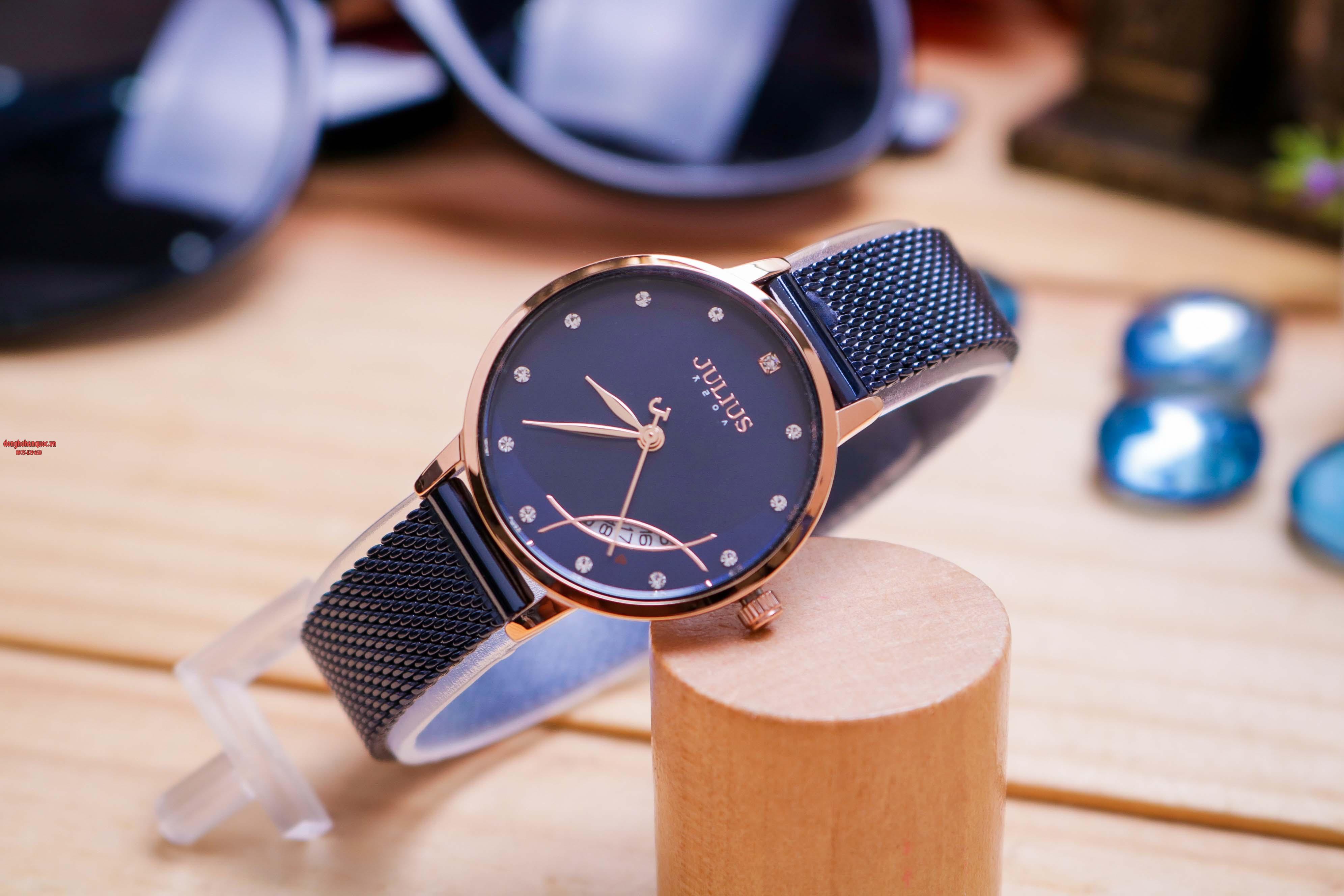 Những mẫu đồng hồ Julius Hàn Quốc mới nhất khiến bạn yêu mê mẩn - 1