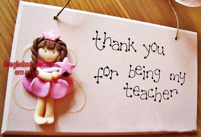 Quà tặng cô giáo ngày 20/10 cực độc đáo và ý nghĩa